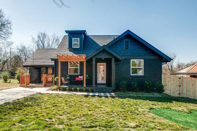 East Nashville Single Family Home For Sale: 2212 Eastland Ave