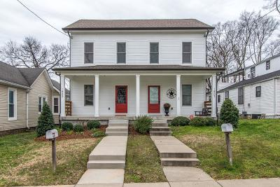 Nashville Single Family Home For Sale: 1807 A N 4th