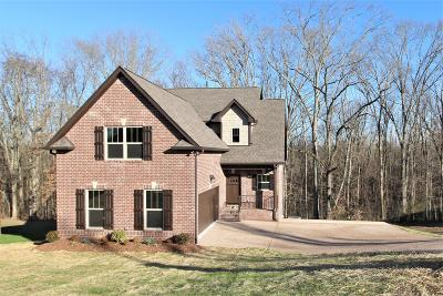 Wilson County Single Family Home Under Contract - Not Showing: 404 Zephyr Cv- Lot 40