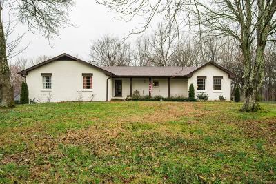 Brentwood Single Family Home Under Contract - Showing: 1401 Red Oak Dr