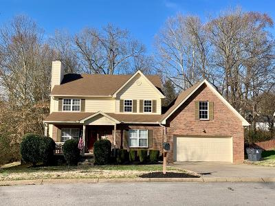 Old Hickory Single Family Home For Sale: 1809 N Bonham Ct
