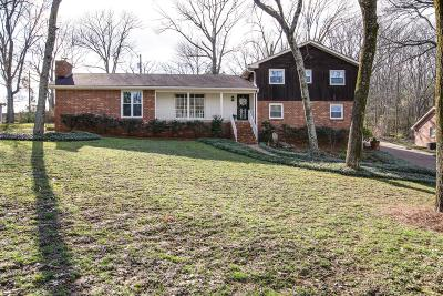 Nashville Single Family Home For Sale: 609 Clematis Dr