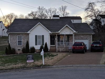 Old Hickory Single Family Home Under Contract - Not Showing: 3712 Portsmouth Ct