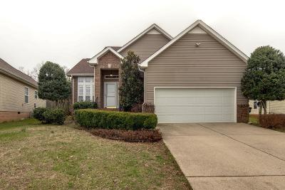 Springfield Single Family Home Under Contract - Not Showing: 503 Berry Cir