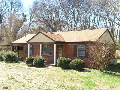 Nashville Single Family Home Under Contract - Showing: 2201 Sandra Dr