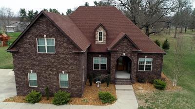 Clarksville Single Family Home For Sale: 3133 Carrie Taylor Cir