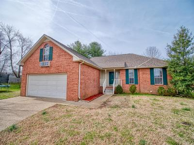 Mount Juliet Single Family Home Under Contract - Not Showing: 329 Cypress Glen Drive