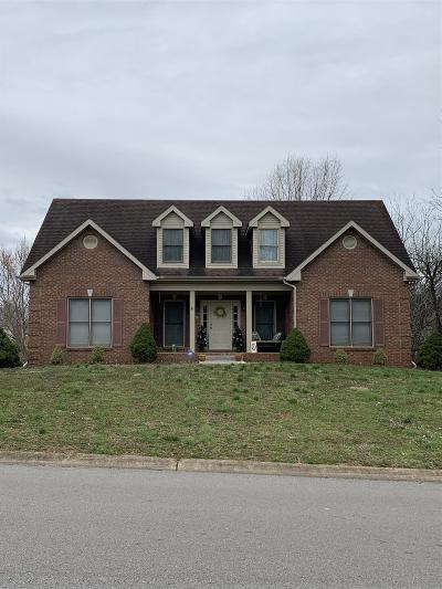 Clarksville Single Family Home For Sale: 876 South Ridge Trail