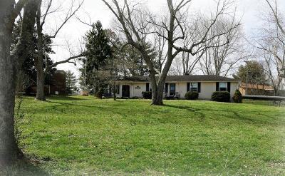Ashland City Single Family Home For Sale: 1015 Lockertsville Rd
