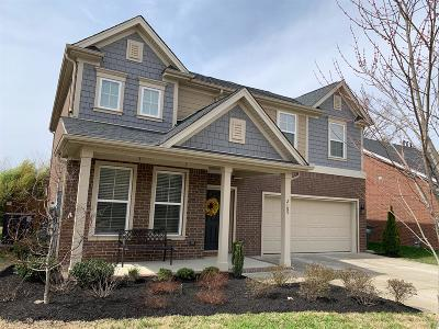 Mount Juliet Single Family Home Under Contract - Showing: 2105 Bedford Bend