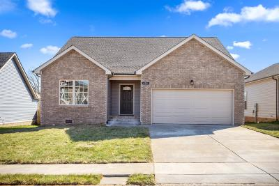 Clarksville Single Family Home For Sale: 626 Snowshoe Ln