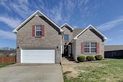 Clarksville Single Family Home Under Contract - Not Showing: 1237 Fossil Dr