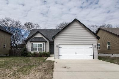 Clarksville Single Family Home For Sale: 693 Fox Trail Ct