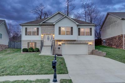 Clarksville Single Family Home Under Contract - Not Showing: 669 Foxfield Dr