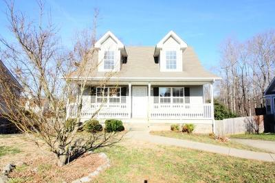 Clarksville Single Family Home For Sale: 2887 Rome Ln
