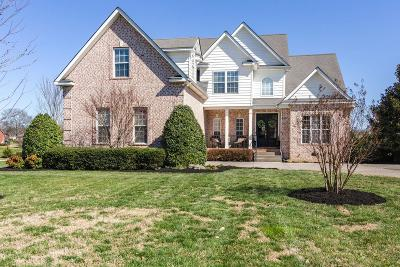 Spring Hill Single Family Home Under Contract - Showing: 1001 St Hubbins Dr