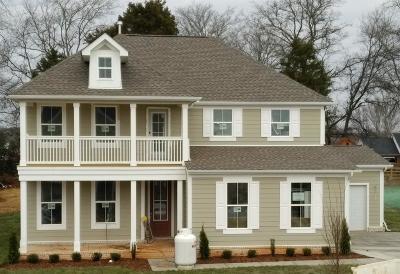 Murfreesboro Single Family Home For Sale: 3307 Chinoe Dr, Lot 84
