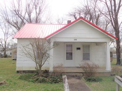 Lawrenceburg TN Single Family Home Under Contract - Not Showing: $25,000