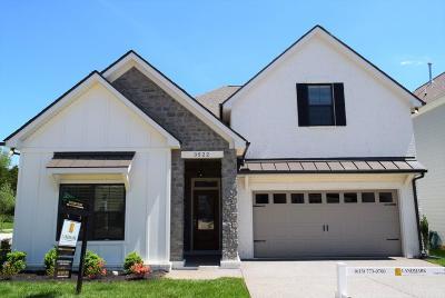 Single Family Home For Sale: 3522 Cortona Way