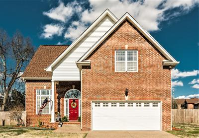 Gallatin Single Family Home Under Contract - Not Showing: 477 Marble Ct