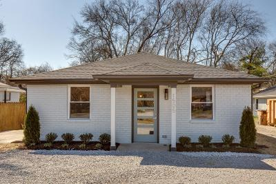 East Nashville Single Family Home Under Contract - Showing: 1505 Andy Street