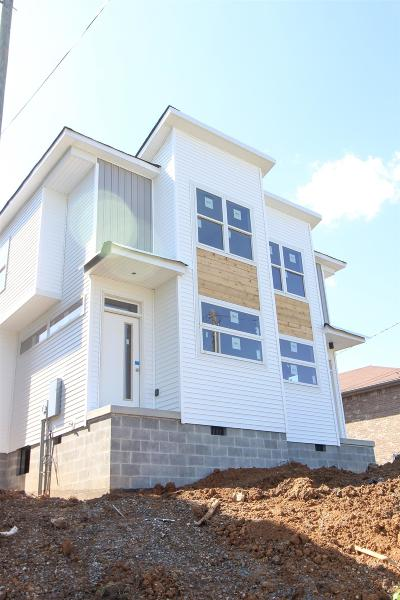 Nashville Single Family Home For Sale: 2327 23rd Ave N B