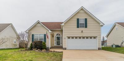 Clarksville Single Family Home Under Contract - Not Showing: 3756 Kendra Ct N