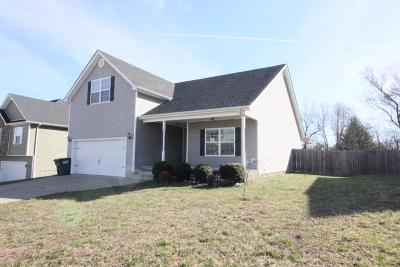 Clarksville Single Family Home Under Contract - Not Showing: 1181 Meachem Dr