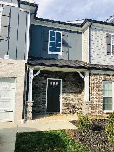 Condo/Townhouse For Sale: 4414 McDowell Run