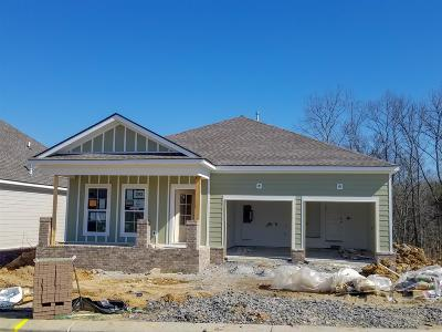 Mount Juliet Single Family Home For Sale: 405 Butler Road, Lot #202
