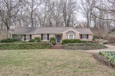 Green Hills Single Family Home Under Contract - Showing: 3417 Valley Brook Rd