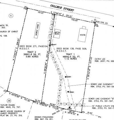 White House Residential Lots & Land For Sale: 2 College Street
