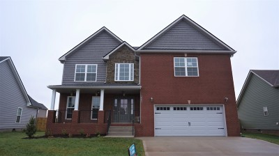 Clarksville Single Family Home For Sale: 513 Autumnwood Farms