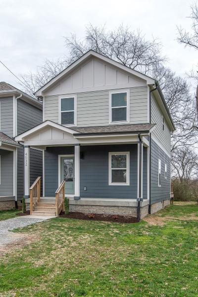 Old Hickory Single Family Home For Sale: 4032 Lafayette Ave