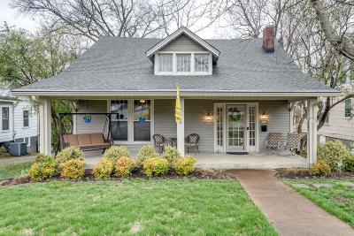 Nashville Single Family Home For Sale: 2043 24th Ave S