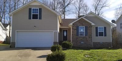Clarksville Single Family Home Under Contract - Showing: 445 Piney Dr