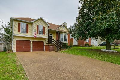 Old Hickory Single Family Home Under Contract - Not Showing: 4224 Brackenwood Dr
