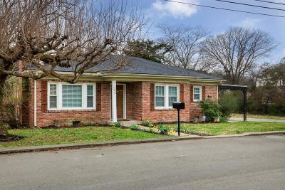 Franklin Single Family Home Under Contract - Showing: 105 Rucker Ave