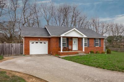 Clarksville Single Family Home Under Contract - Showing: 364 Maple Park Dr