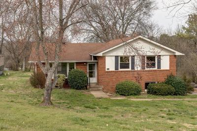 Goodlettsville Single Family Home Under Contract - Not Showing: 302 Dorr Dr
