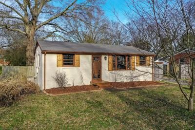 Old Hickory Single Family Home Under Contract - Not Showing: 125 Scenic View Rd
