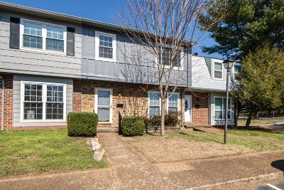 Nashville Condo/Townhouse For Sale: 5600 Country Dr # 322