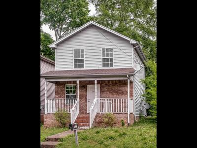 Nashville Single Family Home For Sale: 810 28th Ave N
