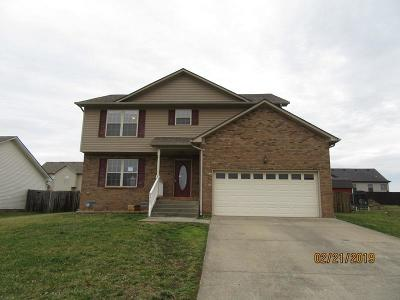 Clarksville Single Family Home Under Contract - Showing: 1561 Apache Way