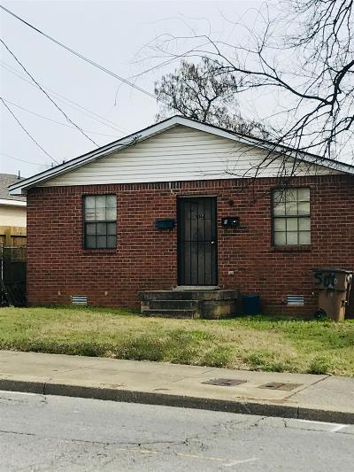 Nashville Multi Family Home Under Contract - Not Showing: 506 Dr D B Todd Jr Blvd