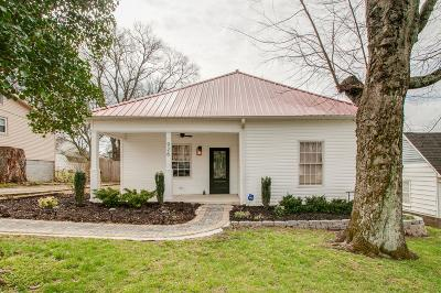 East Nashville Single Family Home Under Contract - Not Showing: 926 Elvira Ave