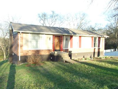 Hendersonville Single Family Home Under Contract - Showing: 202 Gates Dr