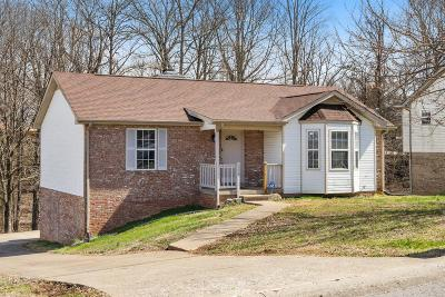 Clarksville Single Family Home Under Contract - Not Showing: 574 Somerset Ln