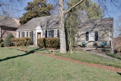 Nashville Single Family Home For Sale: 3718 Brighton Road