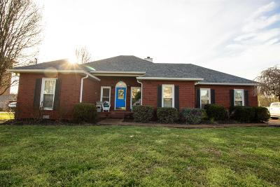 Murfreesboro Single Family Home Under Contract - Not Showing: 3533 Lakebrook Dr